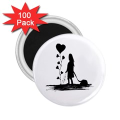 Sowing Love Concept Illustration Small 2 25  Magnets (100 Pack)  by dflcprints