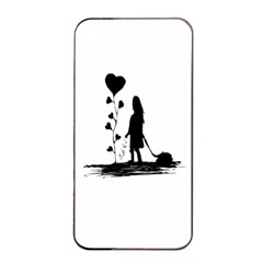 Sowing Love Concept Illustration Small Apple Iphone 4/4s Seamless Case (black) by dflcprints