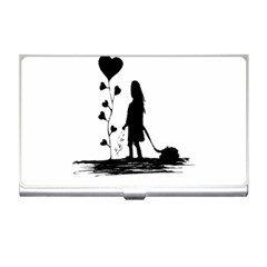 Sowing Love Concept Illustration Small Business Card Holders by dflcprints