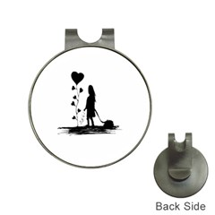 Sowing Love Concept Illustration Small Hat Clips With Golf Markers by dflcprints