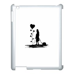 Sowing Love Concept Illustration Small Apple Ipad 3/4 Case (white) by dflcprints