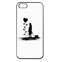Sowing Love Concept Illustration Small Apple Iphone 5 Seamless Case (black) by dflcprints