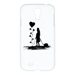 Sowing Love Concept Illustration Small Samsung Galaxy S4 I9500/i9505 Hardshell Case by dflcprints
