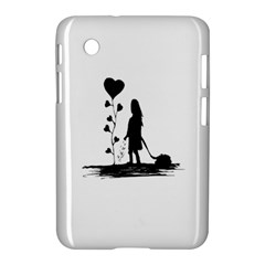 Sowing Love Concept Illustration Small Samsung Galaxy Tab 2 (7 ) P3100 Hardshell Case  by dflcprints