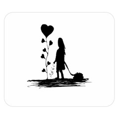 Sowing Love Concept Illustration Small Double Sided Flano Blanket (small)  by dflcprints