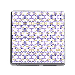 Decorative Ornate Pattern Memory Card Reader (square) by dflcprints