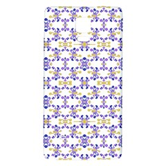 Decorative Ornate Pattern Galaxy Note 4 Back Case by dflcprints