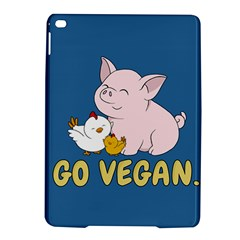 Go Vegan   Cute Pig And Chicken Ipad Air 2 Hardshell Cases by Valentinaart