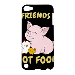 Friends Not Food   Cute Pig And Chicken Apple Ipod Touch 5 Hardshell Case by Valentinaart