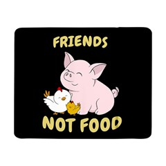 Friends Not Food   Cute Pig And Chicken Samsung Galaxy Tab Pro 8 4  Flip Case by Valentinaart