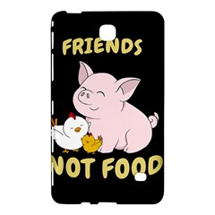 Friends Not Food   Cute Pig And Chicken Samsung Galaxy Tab 4 (7 ) Hardshell Case  by Valentinaart