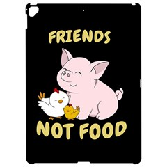 Friends Not Food   Cute Pig And Chicken Apple Ipad Pro 12 9   Hardshell Case by Valentinaart