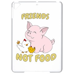 Friends Not Food   Cute Pig And Chicken Apple Ipad Pro 9 7   Hardshell Case by Valentinaart