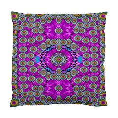 Spring Time In Colors And Decorative Fantasy Bloom Standard Cushion Case (two Sides) by pepitasart