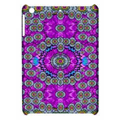 Spring Time In Colors And Decorative Fantasy Bloom Apple Ipad Mini Hardshell Case by pepitasart