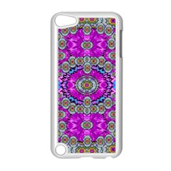 Spring Time In Colors And Decorative Fantasy Bloom Apple Ipod Touch 5 Case (white) by pepitasart