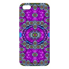 Spring Time In Colors And Decorative Fantasy Bloom Apple Iphone 5 Premium Hardshell Case by pepitasart