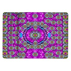 Spring Time In Colors And Decorative Fantasy Bloom Samsung Galaxy Tab 10 1  P7500 Flip Case by pepitasart