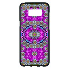 Spring Time In Colors And Decorative Fantasy Bloom Samsung Galaxy S8 Plus Black Seamless Case by pepitasart