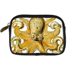 Gold Octopus Digital Camera Cases by vintage2030