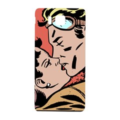 Retrocouplekissing Samsung Galaxy Alpha Hardshell Back Case by vintage2030