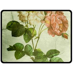Peony 2507643 1920 Double Sided Fleece Blanket (large)  by vintage2030