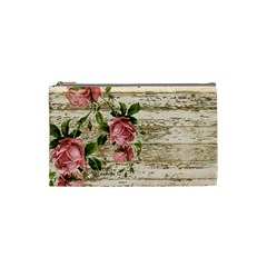 On Wood 2226067 1920 Cosmetic Bag (small)  by vintage2030