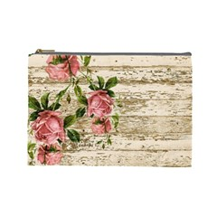 On Wood 2226067 1920 Cosmetic Bag (large)  by vintage2030