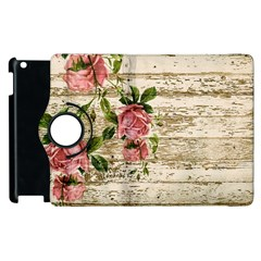 On Wood 2226067 1920 Apple Ipad 3/4 Flip 360 Case by vintage2030