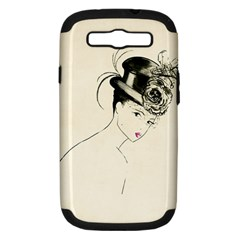 Vintage 2517507 1920 Samsung Galaxy S Iii Hardshell Case (pc+silicone) by vintage2030