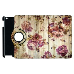 On Wood 1897174 1920 Apple Ipad 3/4 Flip 360 Case by vintage2030