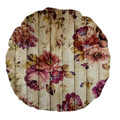 On Wood 1897174 1920 Large 18  Premium Flano Round Cushions by vintage2030