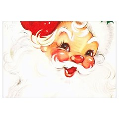 Santa Claus 1827265 1920 Canvas Cosmetic Bag (large)