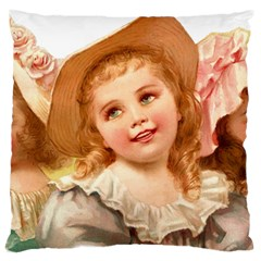 Girls 1827219 1920 Large Flano Cushion Case (two Sides) by vintage2030