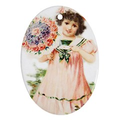 Girl 1731727 1920 Ornament (oval) by vintage2030