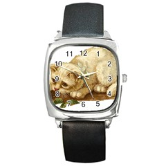 Cat 1827211 1920 Square Metal Watch by vintage2030