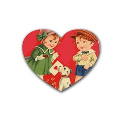 Children 1731738 1920 Heart Coaster (4 Pack)  by vintage2030