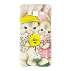 Rabbits 1731749 1920 Samsung Galaxy A5 Hardshell Case  by vintage2030
