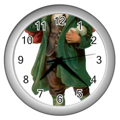 Boy 1718346 1920 Wall Clocks (silver)  by vintage2030