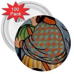 Witch 1462701 1920 3  Buttons (100 Pack)  by vintage2030