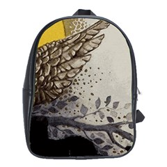 Owl 1462736 1920 School Bag (xl) by vintage2030