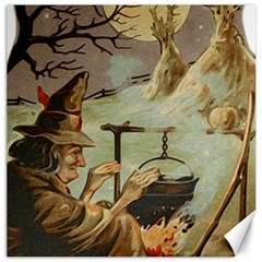 Witch 1461958 1920 Canvas 16  X 16   by vintage2030