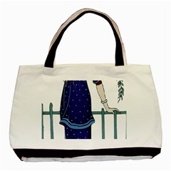 Lady 1318887 1920 Basic Tote Bag by vintage2030