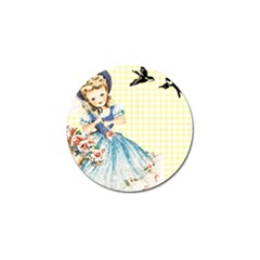 Girl 1370912 1280 Golf Ball Marker (10 Pack) by vintage2030
