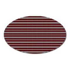 Indian Stripes Oval Magnet by jumpercat