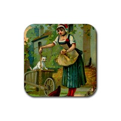 Postcard 1348470 1920 Rubber Square Coaster (4 Pack)  by vintage2030