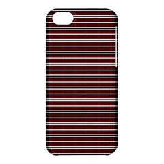 Indian Stripes Apple Iphone 5c Hardshell Case by jumpercat