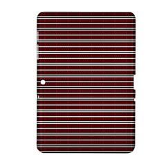 Indian Stripes Samsung Galaxy Tab 2 (10 1 ) P5100 Hardshell Case  by jumpercat