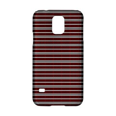 Indian Stripes Samsung Galaxy S5 Hardshell Case  by jumpercat