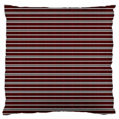 Indian Stripes Large Flano Cushion Case (two Sides) by jumpercat